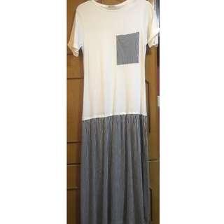 Zara long tshirt dress