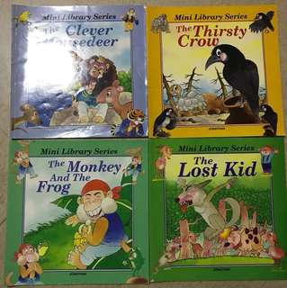 Post Cny sales!! 5 Children story books (suitable for 6-8 years old)