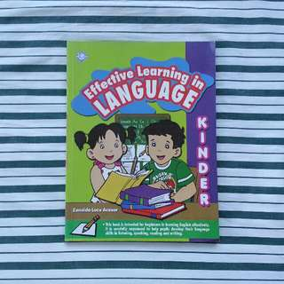 Effective Learning in Language for Kinder