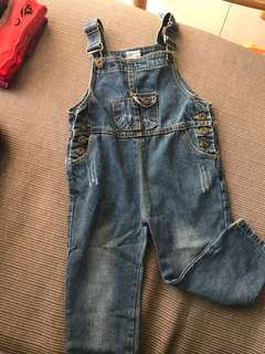 Kids Jeans Jumpsuit