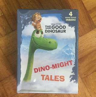THE GOOD DINOSAUR BOARD BOOK SET - 4 pcs