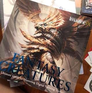 Imagine Fx Fantasy creatures art book