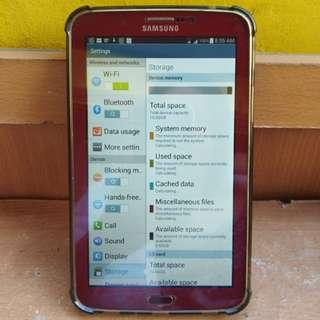 Samsung Galaxy Tab 3 with simslot