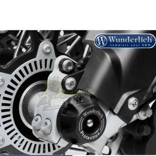 Authentic Wunderlich BMW R1200GS R1200GSA ADV RT front wheel sliders cups