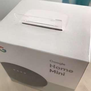 Google Home mini Charcoal BNIB SEALED