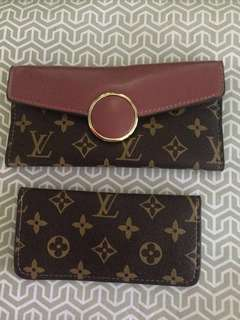 💝Sale Genuine LV Leather Wallet