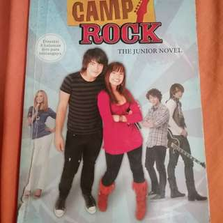 Novel Anak: Camp Rock