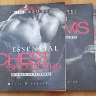 Lot of 3 Men's Health Peak Conditioning Books