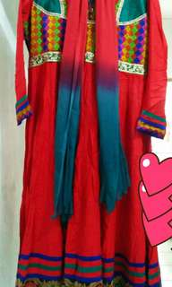 Baju atau dress pesta india