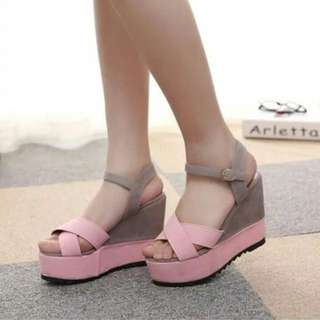 korean shoes wedges