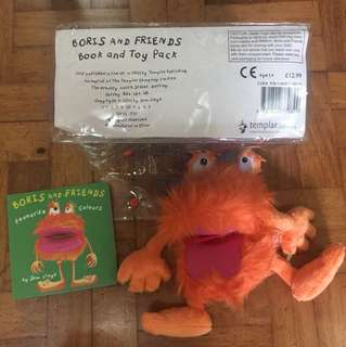 IMPORTED BORIS AND FRIENDS BOOK & TOY PACK