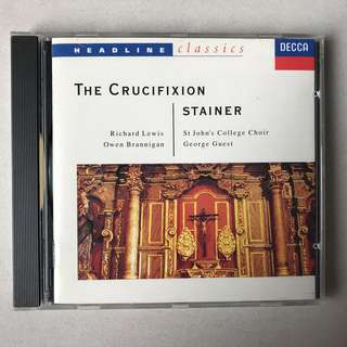Stainer The Crucifixion George Guest DECCA