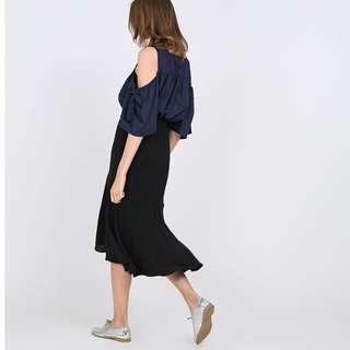 Runway Bandit midi skirt
