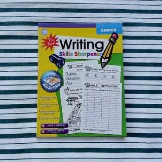 Writing Skills Sharpener for Kinder