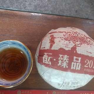 2010普洱熟茶250g