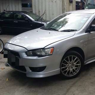 LANCER 2.0 AUTO PADDLESHIFT 2008