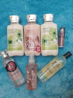 The Body Shop & Bath and Body Works Bundling reprice