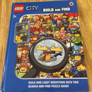 Lego city build and find( book and blocks)