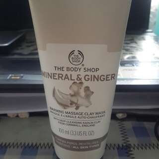 [The Body Shop] Mineral & Ginger clay mask