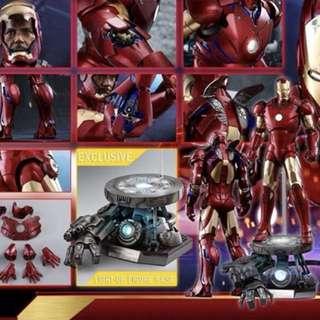 Hot Toys 首日單 1/4 IRON MAN MARK 3 III (DELUXE VERSION)