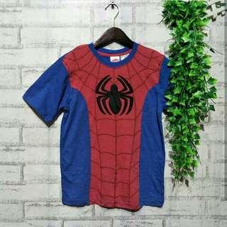Kaos anak Spiderman  10 - 12 tahun LD 43cm Panjang 60cm 30ribu  Sapa cepat dia dapat😍