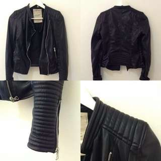 Zara TRF Leather Jacket