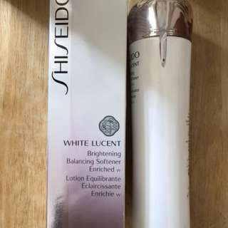 SHISEIDO White Lucent Brightening Balancing Softener Enriched w Lotion 150ml