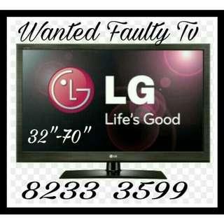 Buying spoilt tv,  smart,  plasma tv , LCD Led tv