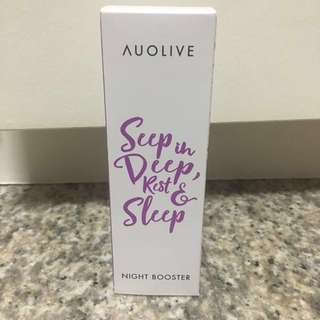 Brand new Auolive Night Booster  Description Related Products Collagen Restorative Moisturiser