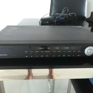 Home CCTV 4 Channel H 264 Digital Video Recorder