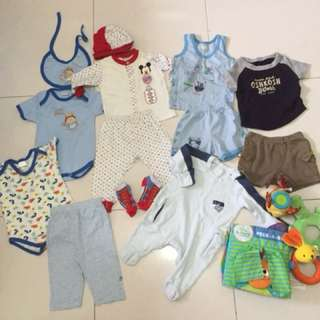 0-6 months Baby Boy clothes bundle free mailing!