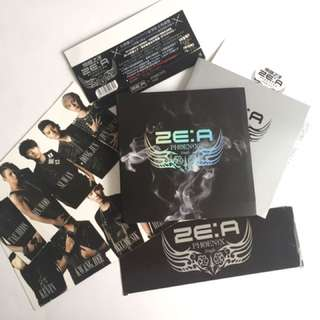 ZE:A Phoenix Single album DVD + CD