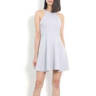 RTP$32 BNWT Suzette Skater Dress - Lilac Grey
