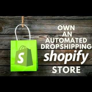 Create e-commerce dropship business fast