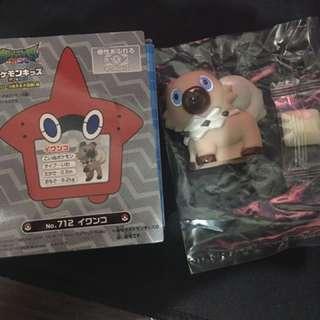 日本-神奇寶貝 口香糖附贈玩具