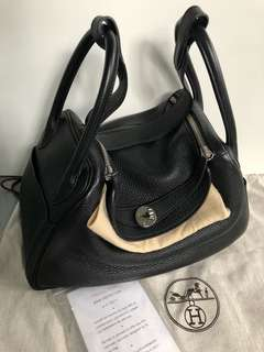 Hermes Lindy 30 (black colour)