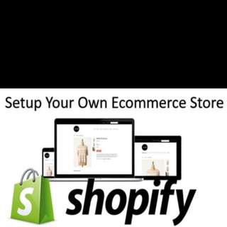 Website business setup