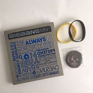 BIGBANG ALWAYS 1st Mini Album CD+ Photobook