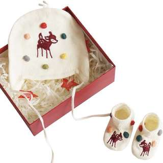 Knitted gift set