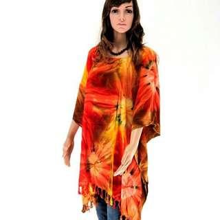 Beautiful n Classy Batik Boutique Dress / Long Loose Blouse