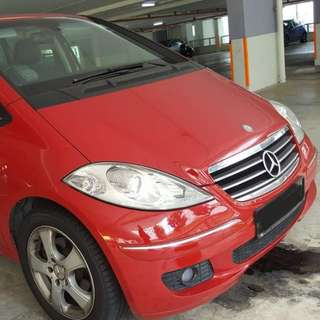Mercedes A170...low mileage..condition like new