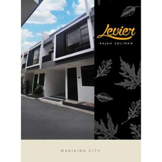 Townhouse for Sale in Marikina Parang Rajah Soliman near Parang Marikina Highschool