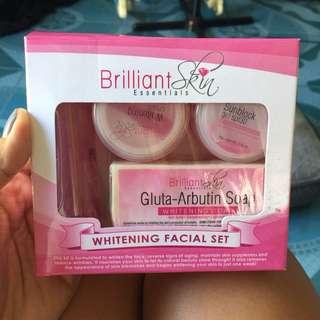 Brilliant Skin Whitening, Rejuvenating & Foaming with free 1 whitening toner