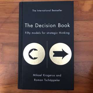 The Decision Book by Mikael Krogerus and Roman Tschappeler
