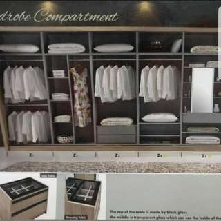 Customade wardrobe