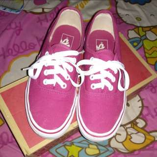 Vans Authentic Sangria *freeongkir