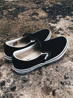 Vans Slip On Black & White Japan Market