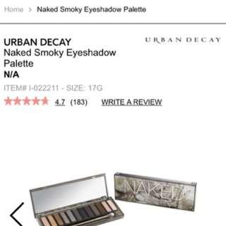 Urban decay eyeshadow palette