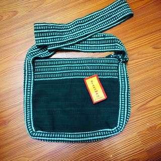 尼泊爾製 民族風針織小包