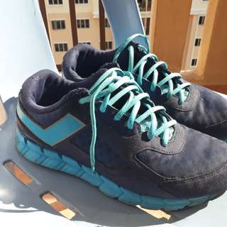 Kasut pony shoe sneakers blue